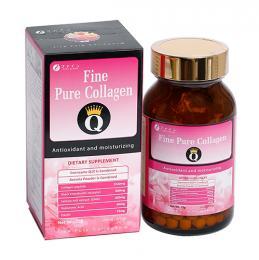 Fine Pure Collagen Q – Cho một làn da trắng sáng, căng mịn