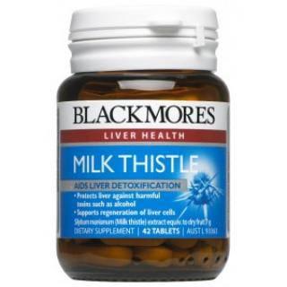 Thực phẩm chức năng Giải Độc Gan Blackmores Milk Thistle 42 Viên Của Úc