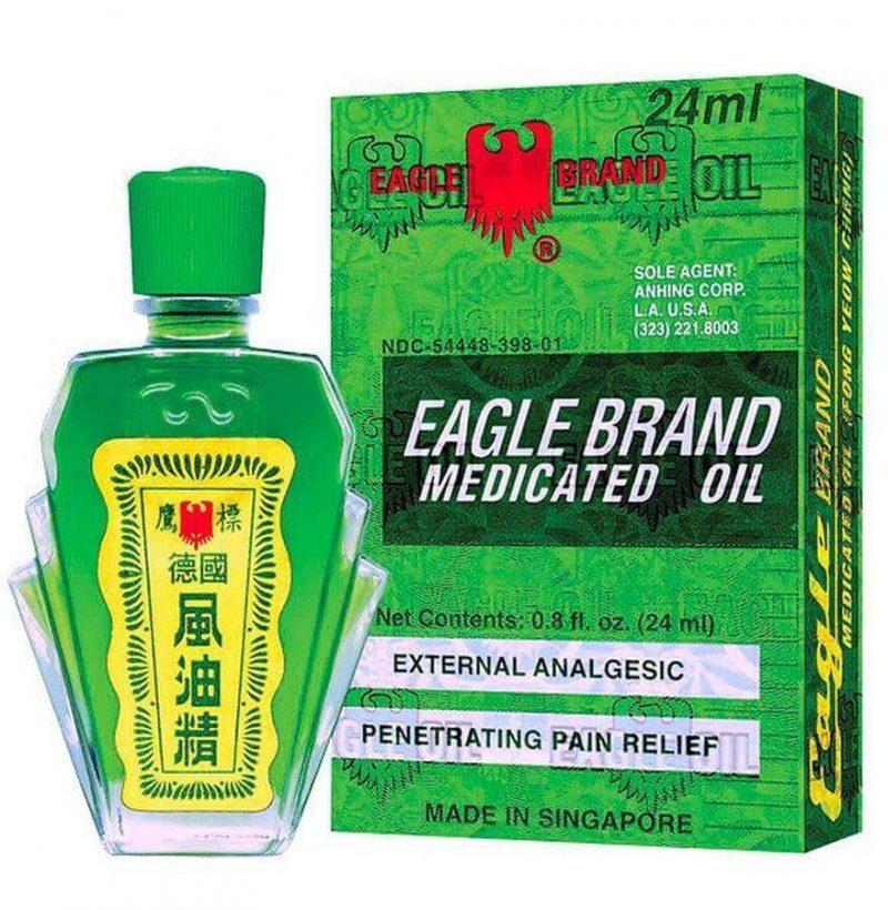 Dầu gió xanh hiệu Con Ó – Eagle Brand Medicated Oil