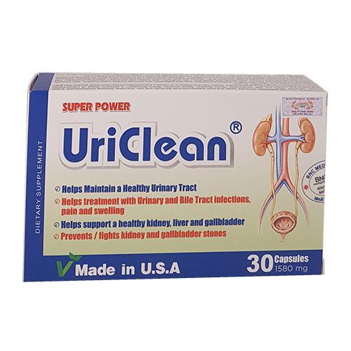 Super Power UriClean – Duy trì sức khoẻ đường tiết niệu