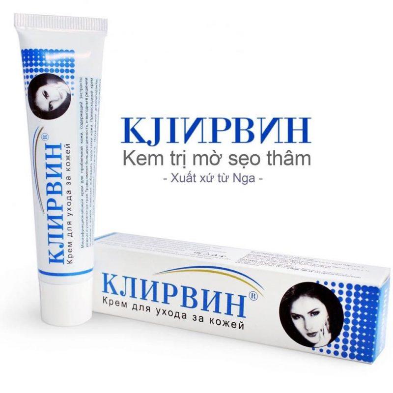 Kem trị sẹo Klirvin 25 g của Nga